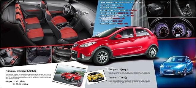 Thiết kế brochure xe hơi