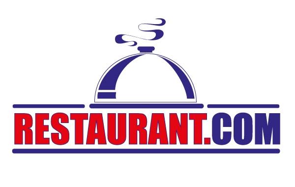 Thiết kế logo nhà hàng màu xanh dương
