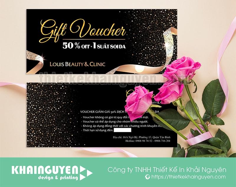 In voucher đẹp giúp nâng cao doanh thu và phát triển thương hiệu
