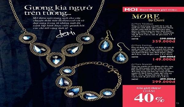 catalogue trang sức đá quý mê hoặc