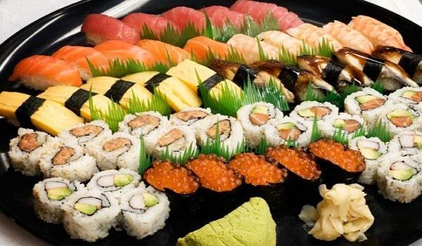 hình ảnh ngon mắt trong menu phong cách Nhật Bản