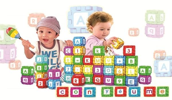 hình ảnh sắc màu trong catalogue đồ chơi trẻ em
