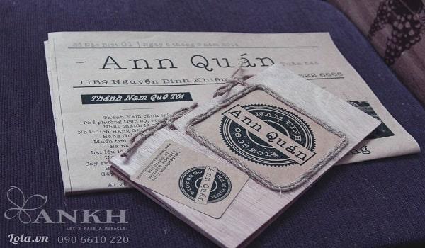 mẫu thiết kế menu phong cách vintage đẹp