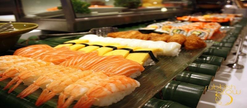 menu phong cách Nhật Bản