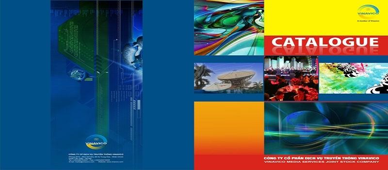 thiết kế bìa catalogue đẹp