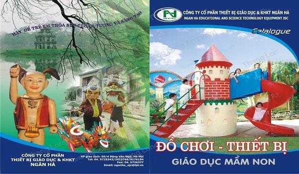 thiết kế catalogue đồ chơi trẻ em truyền thống