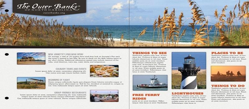 thiết kế catalogue du lịch