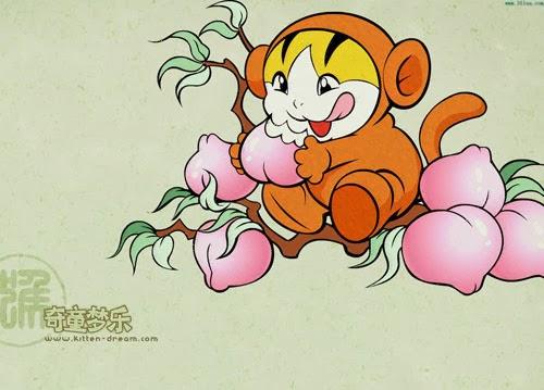 Thiết kế logo tuổi khỉ