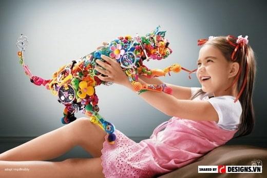 thiết kế sáng tạo trong catalogue đồ chơi trẻ em