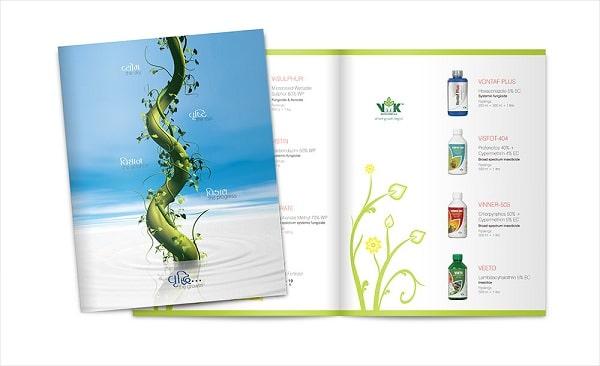 thiết kế trang bìa catalogue sáng tạo