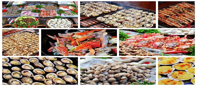 một gợi ý hay cho thiết kế menu hải sản