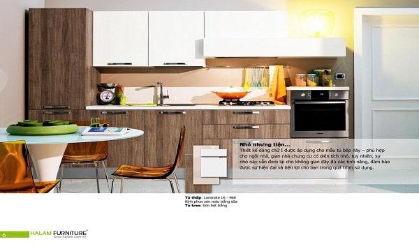 bố cục chuẩn trong thiết kế catalogue nhà bếp