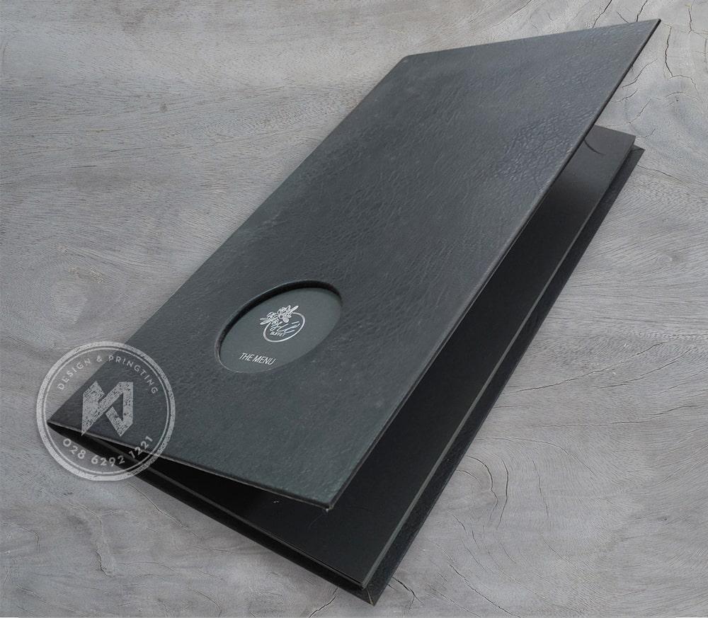 Mẫu menu da khổ lớn đặc biệt(21x37cm)