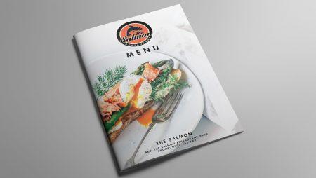 Thiết kế menu nhà hàng với phong cách ẩm thực đặc trưng