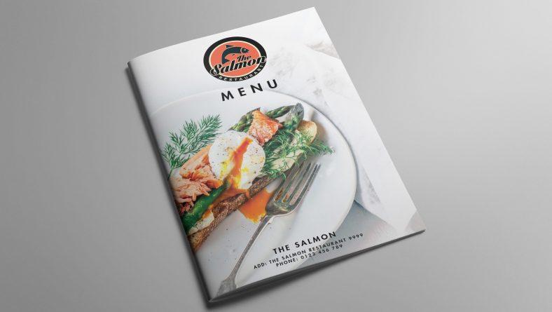 Thiết kế menu nhà hàng tại Đà Nẵng