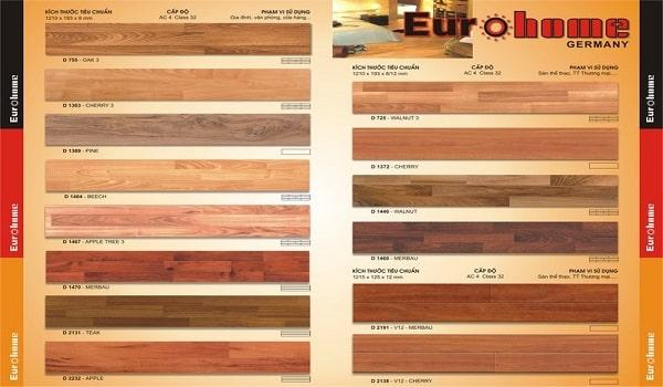 mẫu thiết kế catalogue sàn gỗ đẹp