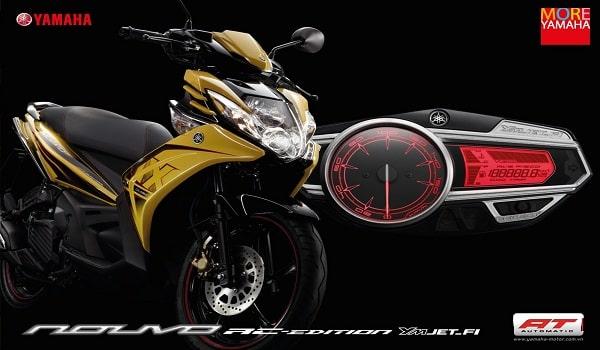 mẫu thiết kế catalogue xe máy hoàn hảo