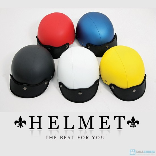 mẫu catalogue mũ bảo hiểm dễ thương