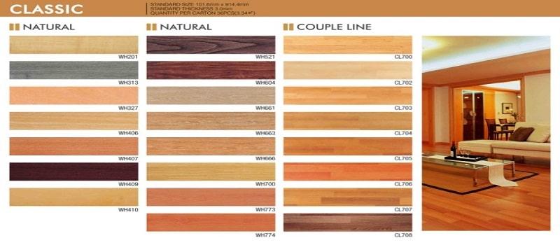 thiết kế catalogue sàn gỗ
