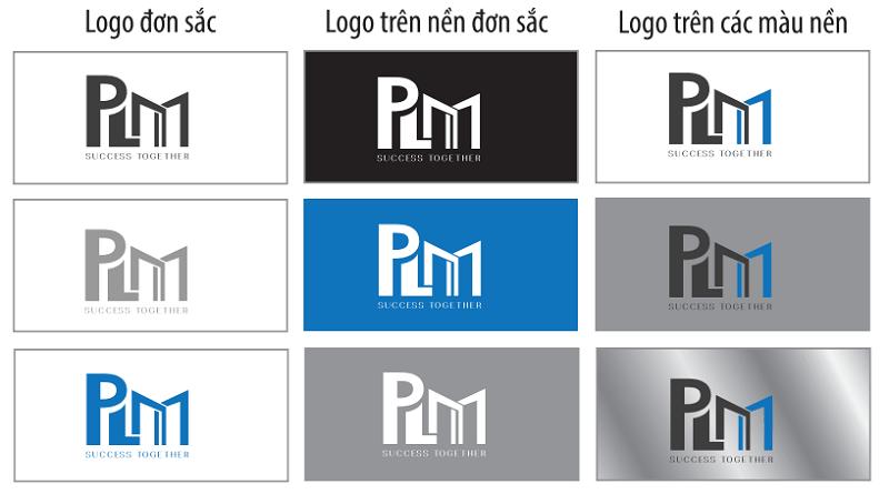 Template bản thiết kế logo theo phong thủy.