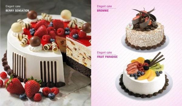 thiết kế catalogue bánh sinh nhật dễ thương