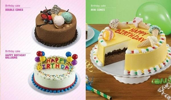 thiết kế catalogue bánh sinh nhật đẹp