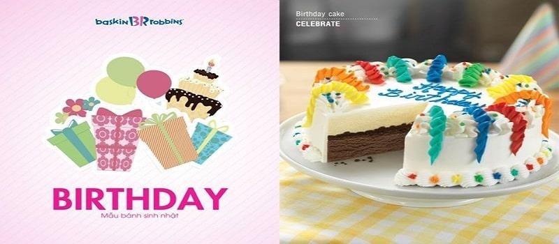 thiết kế catalogue bánh sinh nhật