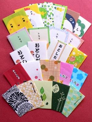 Thiết kế bao lì xì phong cách Nhật Bản