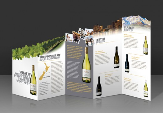 Thiết kế brochure rượi độc đáo