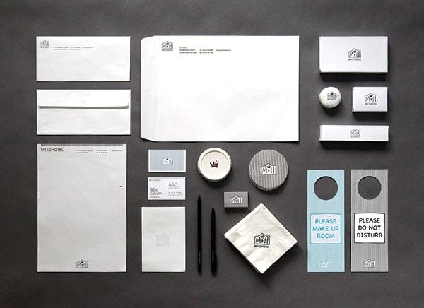 Thiết kế bộ nhận diện thương hiệu khách sạn