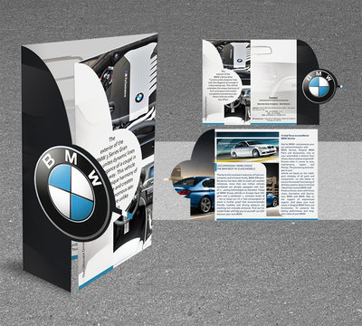 Mẫu thiết kế brochure BMW