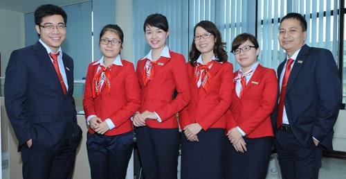 Đồng phục ngần hàng Vietinbank
