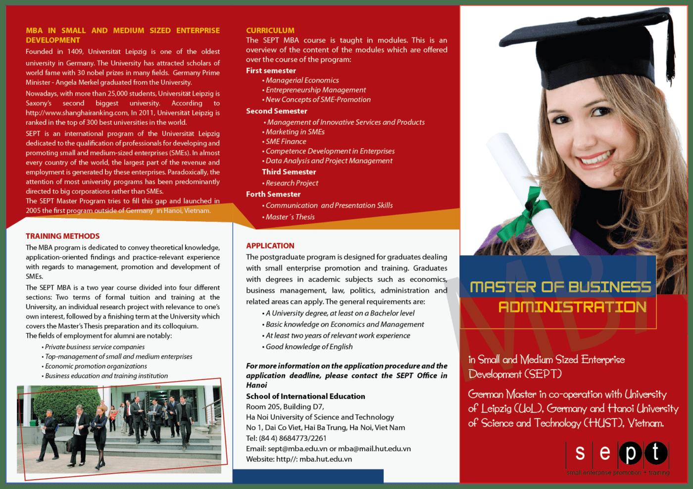 Mẫu thiết kế brochure giáo dục