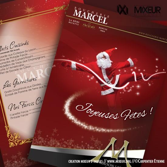 Mẫu thiết kế brochure noel số 1