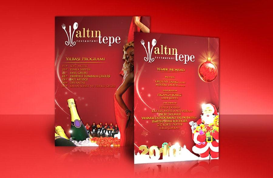Mẫu thiết kế brochure noel số 2