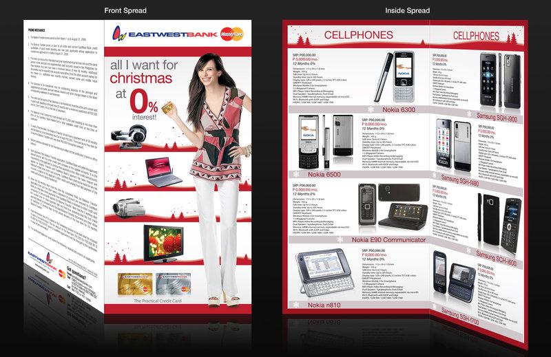 Mẫu thiết kế brochure noel số 6