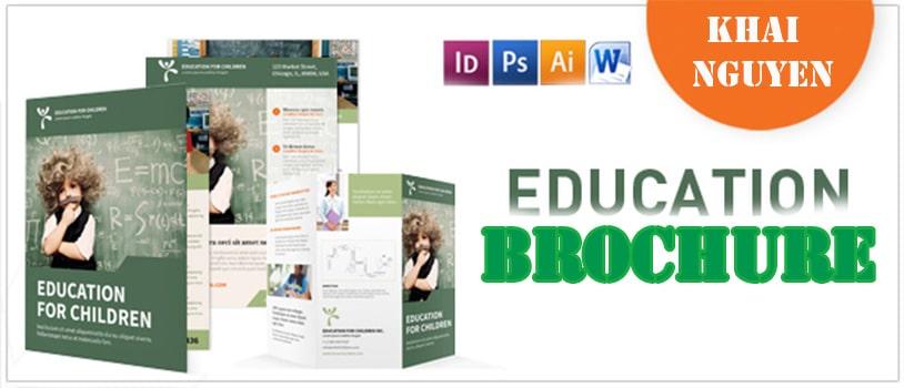 Thiết kế brochure giáo dục
