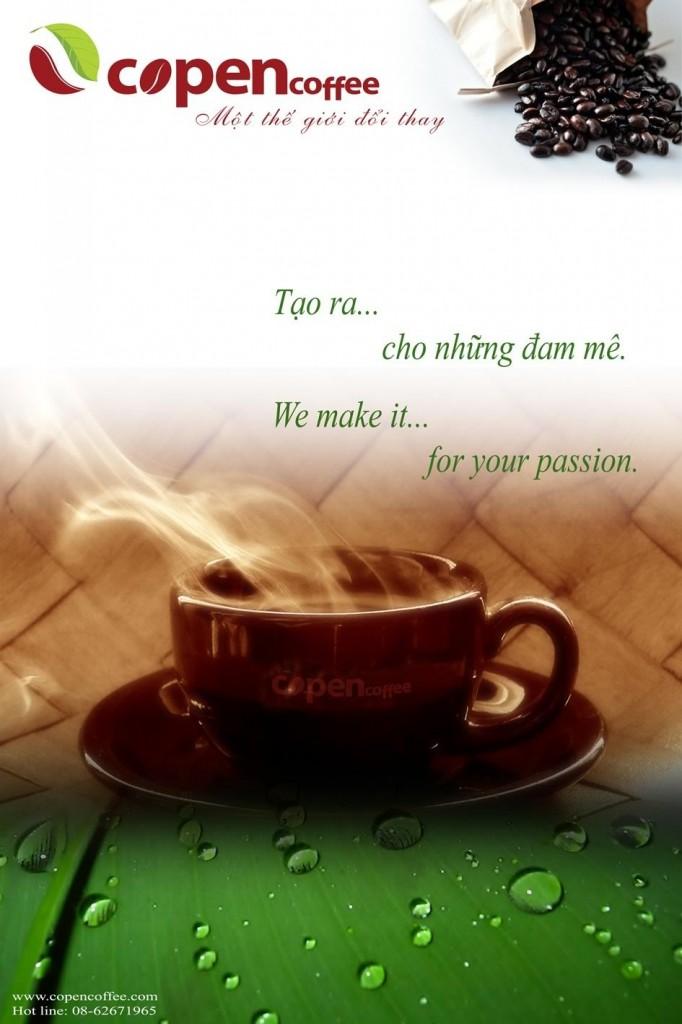 Poster Copen coffee