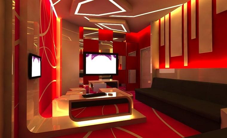 Hình minh họa Phòng Karaoke (không thực)