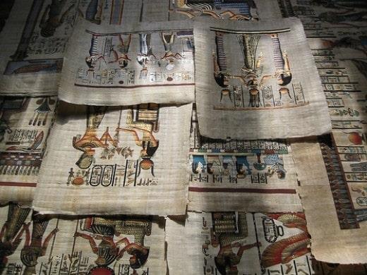 Lịch sử của giấy - tản mạn