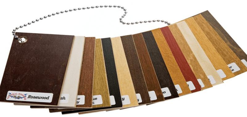 Làm bộ mẫu ván gỗ