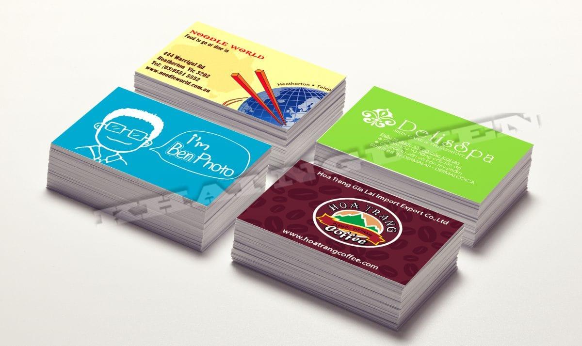 Mẫu thiết kế name card sáng tạo - banner