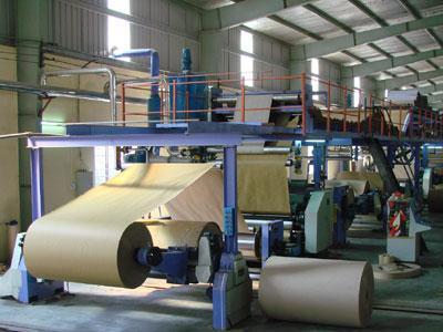 Quy trình sản xuất giấy công nghiệp