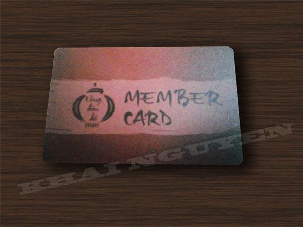 Member card - thẻ VIP lồng đèn đỏ