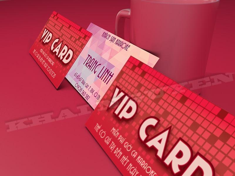 Thẻ vip card - thẻ nhựa