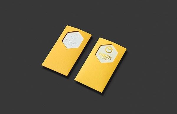 Làm card visit độc đáo - card gbox