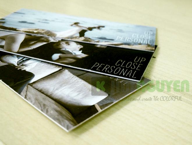 Mẫu card visit bồi 2 lớp giấy econo của nhiếp ảnh gia