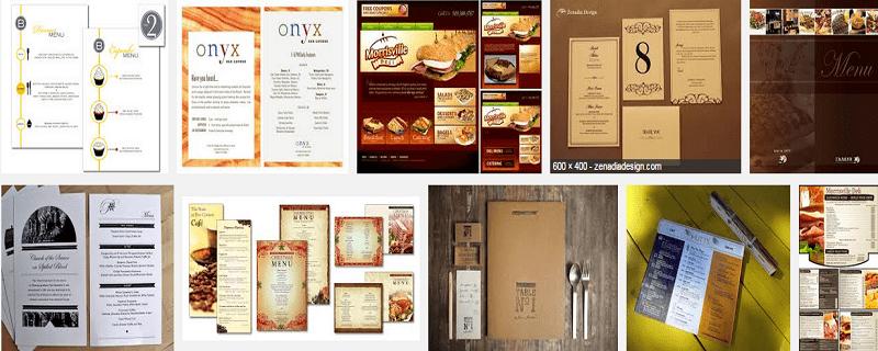 Thiết kế thực đơn làm menu đa dạng