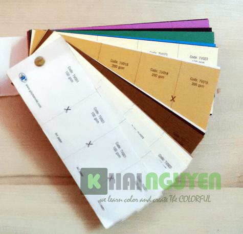 Đa dạng mẫu giấy art giấy mỹ thuật