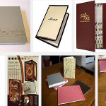 Quy cách đóng cuốn, đóng gáy Menu, Catalogue, Photobook.